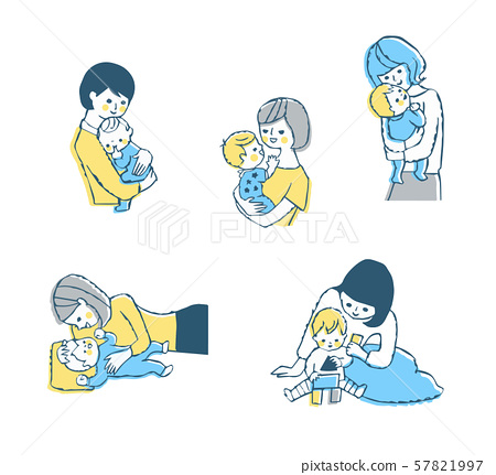 媽媽和寶寶各種場景集 57821997