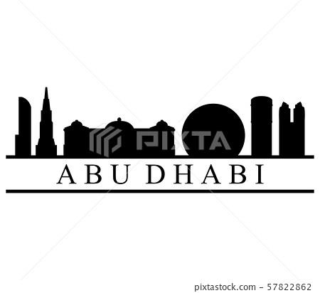 Skyline abu dhabi 57822862