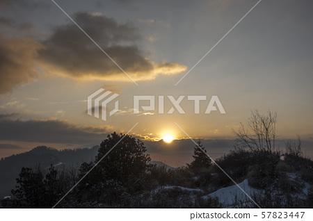 일출,히말라야,네팔 57823447