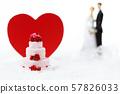 婚禮新娘結婚戒指 57826033