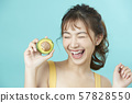 여성 미용 비타민 57828550