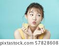 여성 미용 비타민 57828608