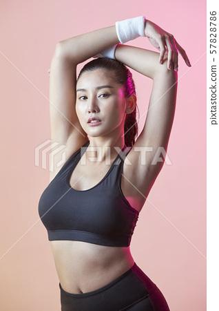 여성 스포츠 선수 57828786