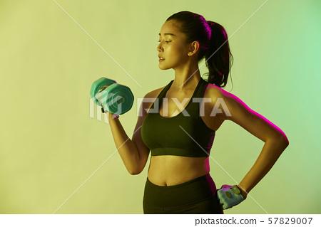 여성 스포츠 선수 57829007