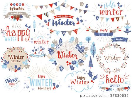 冬季標題字符1 57830653