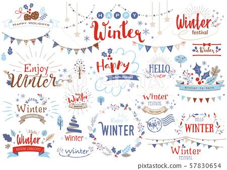 冬季標題字符2 57830654