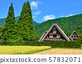 Shirakawa-go Gassho-zukuri Fruitful Autumn 57832071