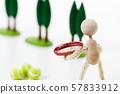 테니스 정구 테니스 공 라켓 57833912