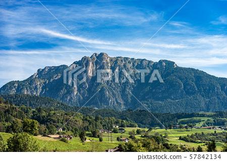 Mount Cornon - Dolomites in Italian Alps - Trentino Alto Adige 57842134