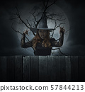 Halloween mystery concept 57844213