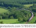貨運列車攀登Karikatsu Pass 57856530