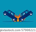 Car accident. Concept business vector, Broken, 57906221