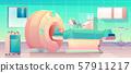Mri scanner patient in hospital. Ultrasonography 57911217