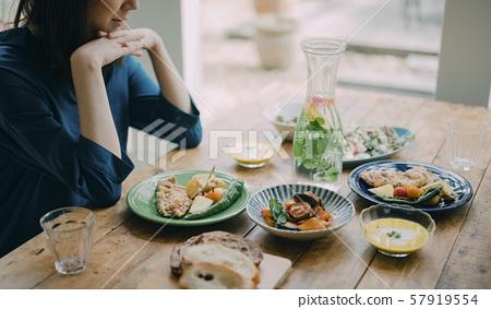 女性生活方式餐 57919554