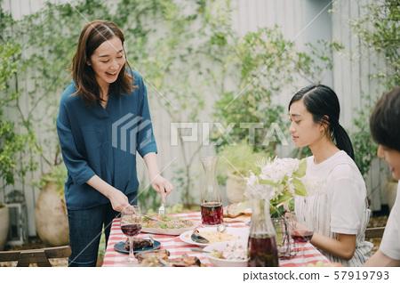 Home Party Terrace Garden 57919793