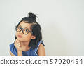 女孩兒童肖像 57920454