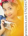 女孩兒童肖像 57920457