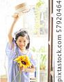 女孩兒童肖像 57920464