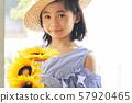 女孩兒童肖像 57920465