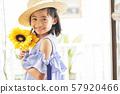 女孩兒童肖像 57920466
