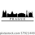 Prague skyline 57921449