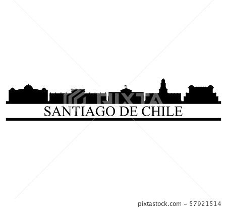 santiago de chile skyline 57921514
