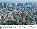 일본 도쿄 도시 경관 시나가와 방면과 모토 아자 부 힐스 포레스트 타워 등 희망 57922533