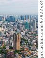 Views of Tokyo cityscape in Japan, Shinagawa, Motoazabu Hills Forest Tower, etc. 57922534