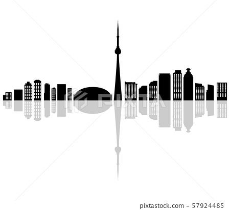 toronto skyline 57924485