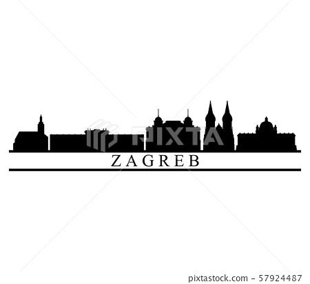 Zagreb skyline 57924487