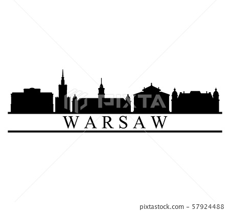 Warsaw skyline 57924488