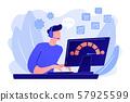 Customer care concept vector illustration 57925599