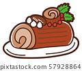 插圖素材:聖誕布什·德·諾埃爾 57928864