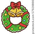 일러스트 소재 : 크리스마스리스 57928866