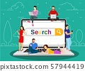 Online search bar concept 57944419