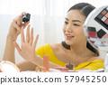 女人美容指甲護理 57945250