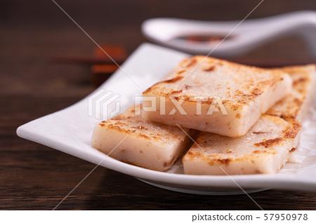 蘿蔔糕褿粿食品點心中式點心蘿蔔糕蘿蔔糕蘿蔔糕 57950978