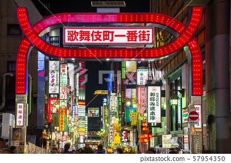 新宿·歌舞伎町 57954350