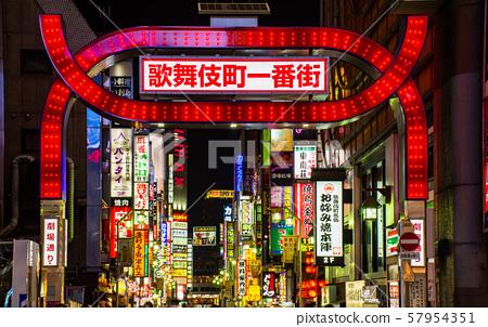 新宿·歌舞伎町 57954351