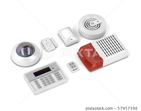 Home security electronic devices 57957398