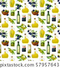 pattern with olive products 57957643