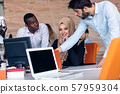 Designer Teamwork Brainstorming Planning Meeting Diversity Concept 57959304