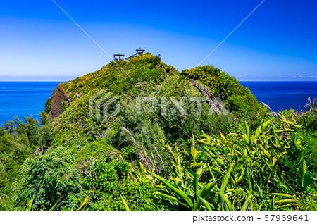 臺灣綠島自然景觀Asia Taiwan green island natural landscape 57969641