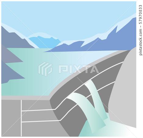 Toyama Kurobe Dam 57970833