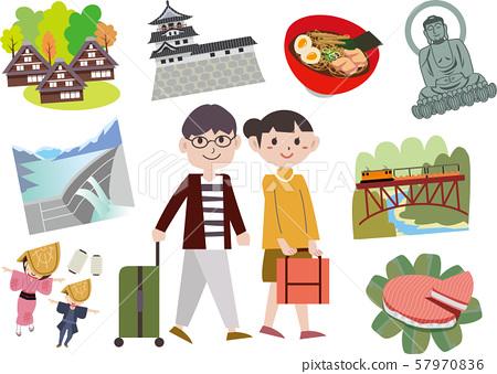 Toyama sightseeing trip 57970836