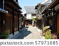 미타라이 히로시마 현 구레시 大崎下島 복고풍 거리 풍경 57971685