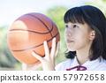 농구 여자 중고생 57972658