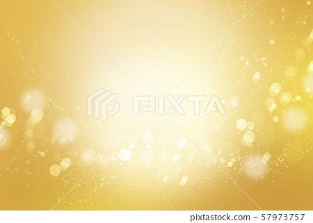 閃亮的散景(金色抽象背景) 57973757