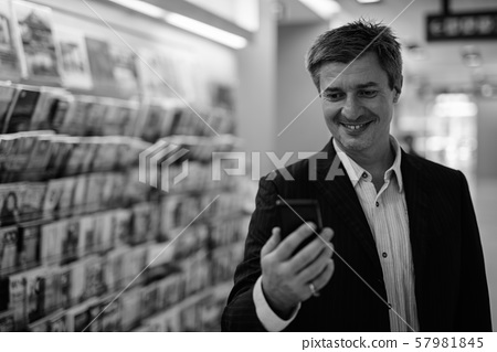 Businessman living his everyday life in Bangkok, Thailand 57981845