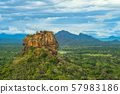 sigiriya, lion rock, ancient fortress in sri lanka 57983186